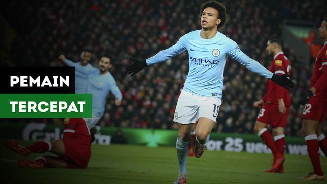 Situs Express.co.uk mengemukakan siapa pemain tercepat di Premier League.