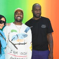 Virgil Abloh, Kanye West, Louis Vuitton, Kim Kardashian, image: Getty Image