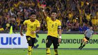 Kapten Malaysia, Zaquan Adha optimistis usai timnya melaju ke semifinal Piala AFF 2010. (AFF Suzuki Cup)