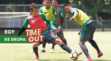 Berita video Time Out kali ini tentang Egy Maulana yang dikabarkan akan bergabung dengan klub Eropa setelah TC (Training Center) Timnas Indonesia U-23 untuk Asian Games 2018.