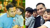 Faisal Nasimuddin dan anak (Sumber: Instagram/asmf1f2f3)