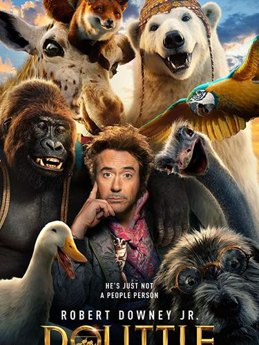 Poster film Dolittle. (Foto: Dok. Universal Pictures)