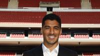 Luis Suarez mengenakan nomor 9 di Atletico Madrid. (Instagram: @atleticodemadrid)