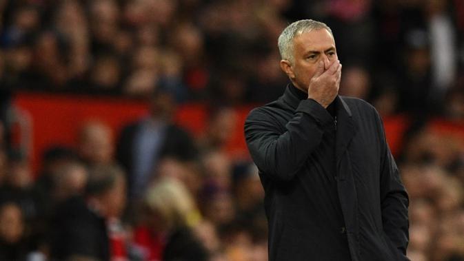 Manajer Manchester United asal Portugal, Jose Mourinho. (AFP/Oli Scarff)#source%3Dgooglier%2Ecom#https%3A%2F%2Fgooglier%2Ecom%2Fpage%2F%2F10000