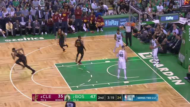 Berita video game recap NBA 2017-2018 antara Boston Celtics melawan Cleveland Cavaliers dengan skor 96-83.