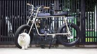 Sepeda listrik custom di Bandung