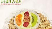 """Salad buah """"La Sadala""""."""