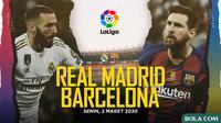 La Liga: Real Madrid vs Barcelona. (Bola.com/Dody Iryawan)