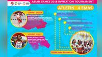 Indonesia menjadi juara umum dalam Test Event Asian Games 2018. Prestasi yang diraih cukup membanggakan karena berhasil meraih 30 emas, 19 perak, dan 18 perunggu.