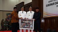 Sertijab Gubernur Banten. (Liputan6.com/Yandhi Deslatama)