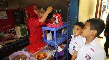 Program Warung Anak Sehat Raih Trofi Kesetaraan Gender dari GEEIS SDG Award 2021