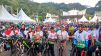 Gowes Nusantara 2019 yang digelar di Payakumbuh diikuti 5.000 peserta (dok Kemenpora)