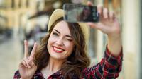 Ilustrasi selfie (iStockphoto)