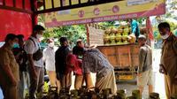 Proses jual beli gas subsidi di agen dan pangkalan di Nunukan Kaltara