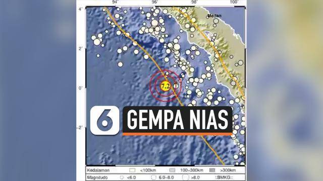 Bmkg Ada 3 Gempa Susulan Setelah Nias Barat Diguncang Magnitudo 6 7 News Liputan6 Com
