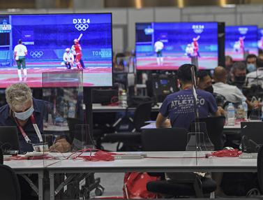 Melongok Main Press Center Olimpiade Tokyo 2020