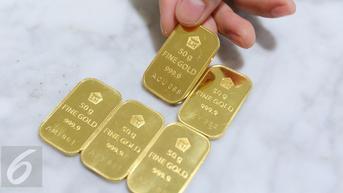 Harga Emas Antam Anjlok Rp 14.000 per Gram di 17 September 2021, Simak Rinciannya