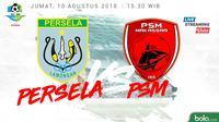 Jadwal Liga 1 2018 pekan ke-20, Persela Lamongan vs PSM Makassar. (Bola.com/Dody Iryawan)