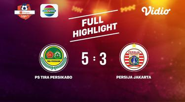 Berita video gol-gol yang tercipta pada pertandingan Tira Persikabo melawan Persija Jakarta dalam lanjutan Shopee Liga 1 2019, Selasa (16/7/2019).