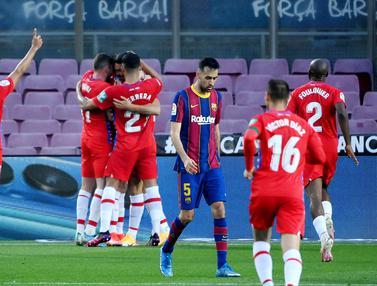 FOTO: Dipermalukan Granada di Camp Nou, Barcelona Gagal Puncaki Klasemen Liga Spanyol