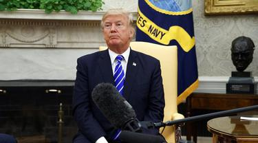 Presiden ke-45 Amerika Serikat Donald Trump