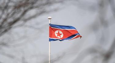 Bendera Korea Utara (AFP)