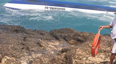 Speed boat tenggelam dua turis tewas di bali