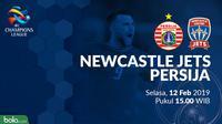 AFC Champions League: Newcastle Jets Vs Persija Jakarta (Bola.com/Adreanus Titus)