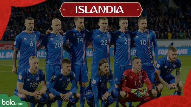 Berita Video Profil Tim Piala Dunia 2018, Islandia Cetak Sejarah