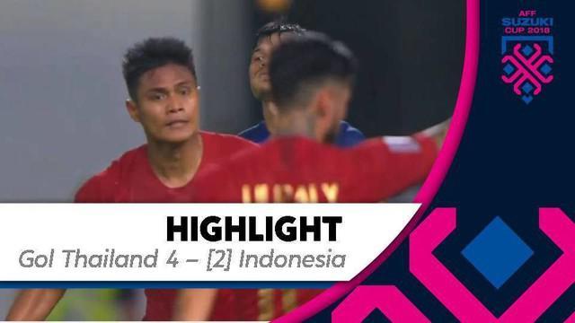 Berita video momen gol Fachrudin Aryanto dengan tandukan kepala yang berbuah gol untuk Timnas Indonesia saat menghadapi Thailand pada laga ketiga Grup B Piala AFF 2018 di Stadion Rajamangala, Bangkok, Sabtu (17/11/2018).