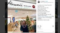 Bupati Talaud Sri Wahyumi mengunggah sejumlah foto saat dirinya berada di Amerika Serikat di akun Instagram miliknya, sri_manalip.