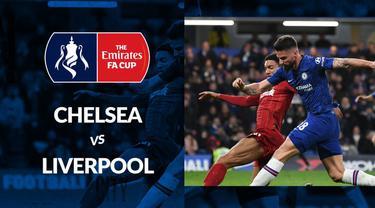 Berita video statistik Chelsea vs Liverpool pada babak ke-5 FA Cup 2019-2020, Rabu (4/3/2020) di Stamford Brigde, London.