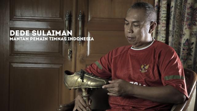 Mantan pemain Timnas Indonesia, Dede Sulaiman bercerita tentang SEA Games 1979 dan saat diasuh pelatih legendaris Wiel Coerver