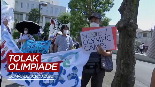 Berita Video Jelang Pembukaan, Sejumlah Warga Jepang Tolak Olimpiade Tokyo 2020