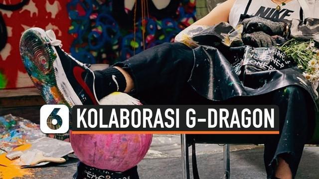 G-Dragon dan Nike kolaborasi lewat sepatu Peaceminusone tipe Air Force 1. Sepatu ini mampu dijual kembali dengan harga Rp 120 juta.