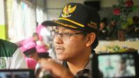 Wakil Wali Kota Malang, Sutiaji, menawari Arema untuk bermarkas di Stadion Gajayana, Kota Malang. (Bola.com/Iwan Setiawan)