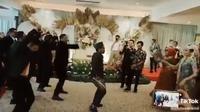 Pernikahan viral (Sumber: Twitter/sayyidah__)