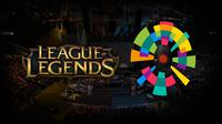 Logo keberadaan League of Legends di pentas Asian Games 2018. (mineski.net)