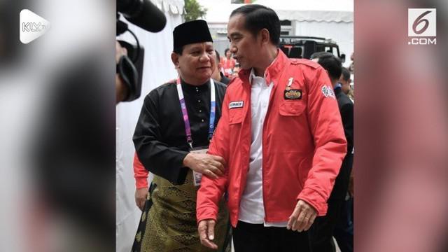 Capres nomor urut 1 Joko Wododo menyampaikan ucapan selamat ulang tahun kepada rivalnya capres no 2 Prabowo Subianto. Ucapan Selamat Ulang Tahun disampaikan lewat media sosial