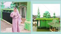 Masjid yang dibangun Nita Thalia (Sumber: Instagram/nitatalia.real)