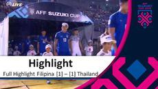 Berita video highlights Piala AFF 2018 antara Filipina melawan Thailand yang berakhir dengan skor 1-1, Rabu (21/11/2018).