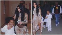 Kim Kardashian dan North West (dok. Instagram @kimkardashian/https://www.instagram.com/p/B6hDQDlADy9/Putu Elmira)