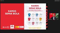 Managing Director La Liga Asia, Ivan Condina tengah memberi sambutan dalam peluncuran Kamus Sepak Bola Bahasa Spanyol-Indonesia melalui teleconference Zoom, Senin (16/11/2020). (Foto: Liputan6.com)