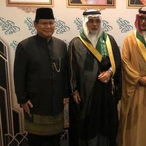 Prabowo Subianto hadiri National Day Arab Saudi (Merdeka.com/Hari Ariyanti)