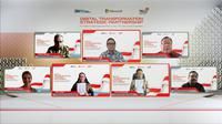 PT Telkom Indonesia (Persero) Tbk (Telkom) and PT Microsoft Indonesia Thursday (19/8) officially announced a collaboration to accelerate digital transformation and realize digital sovereignty in Indonesia.