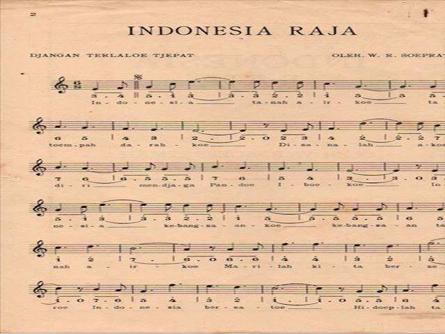 Cerita Di Balik Kembalinya Lagu Indonesia Raya 3 Stanza News Liputan6 Com