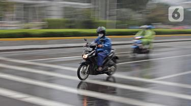 Minggu Pagi, Jakarta Diguyur Hujan