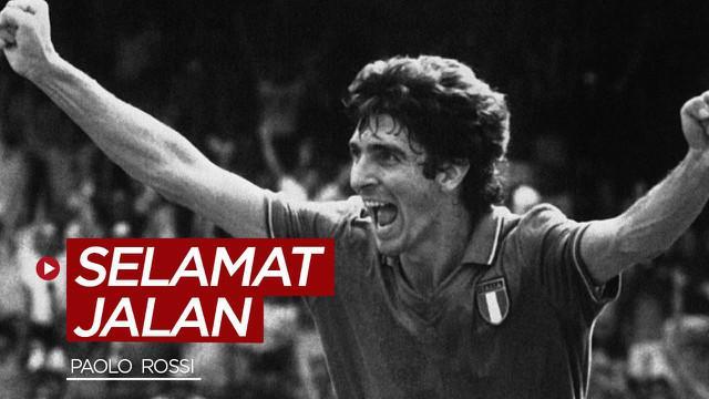 Berita video Paolo Rossi, pahlawan Timnas Italia di Piala Dunia 1982 meninggal dunia pada Kamis (10/12/2020) waktu setempat.