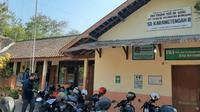 Sekolah SDN Karangtengah III, Wonosari, Gunungkidul. (Liputan6.com/Yanuar H)