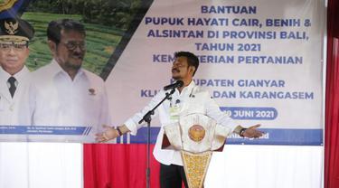 Mentan Syahrul Dorong Provinsi Bali Jadi Simbol Pertanian Maju